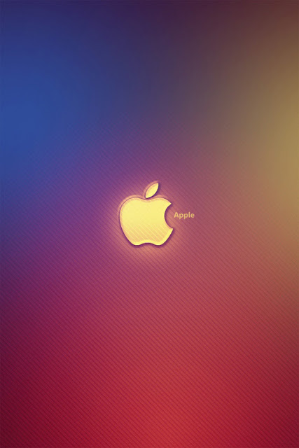 Apple Background iPhone Wallpaper By TipTechNews.com