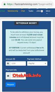 withdraw money rules