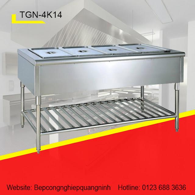Bàn dưỡng nóng 4 khay TGN-4K14