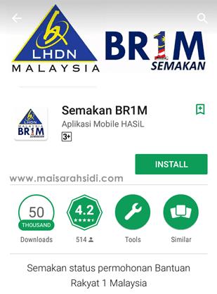 apps semakan BR1M