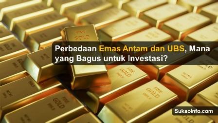 Investasi emas batangan antam atau ubs