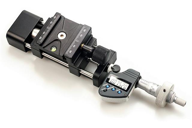 Hejnar MS4-1DS Digital Micrometer Macro Rail