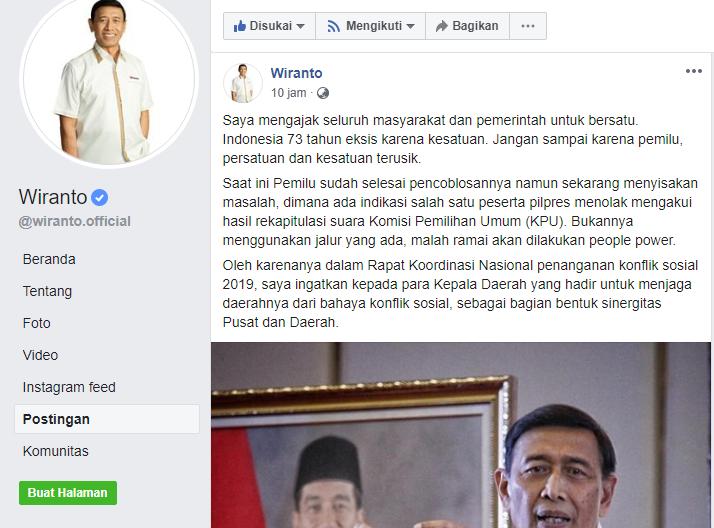 Wiranto Dibully Rakyat