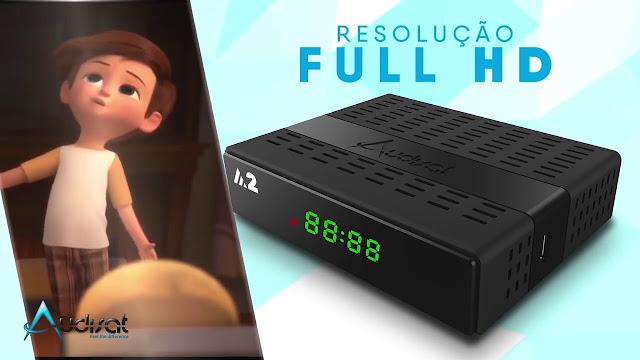 NOVA ATUALIZAÇÃO AUDISAT A2 PLUS V 1.1.88