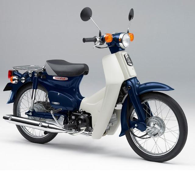 Foto Foto Honda Super Cub Original Modifikasi Gambar Photo