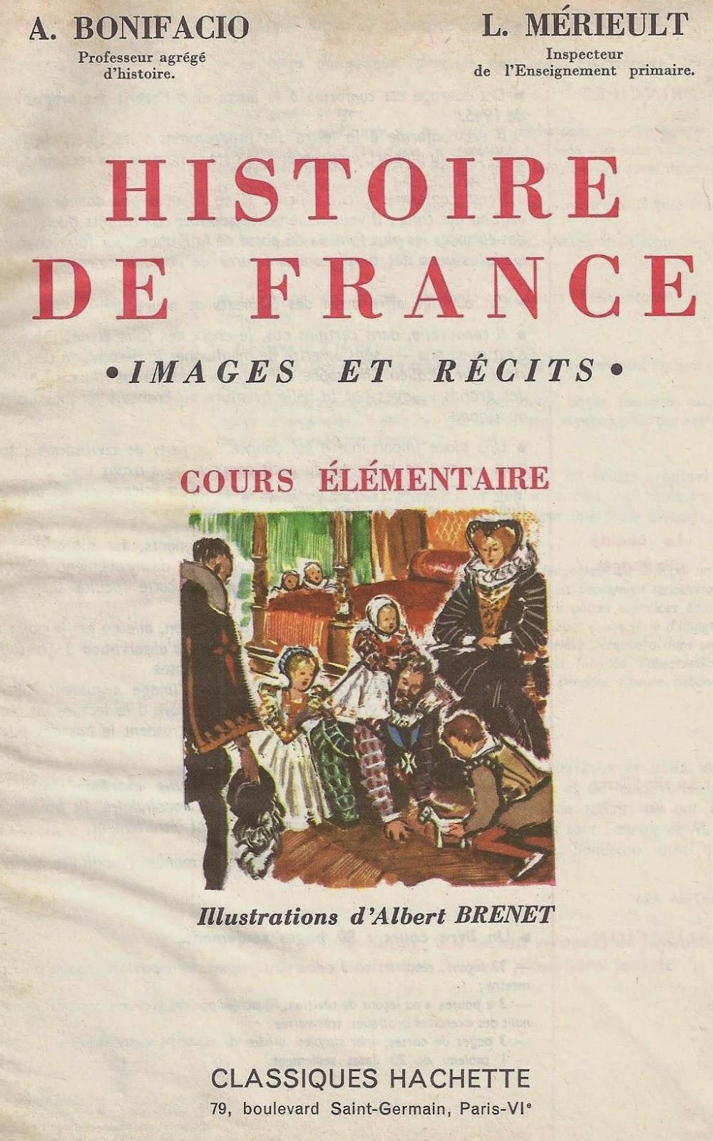 Manuels Anciens Bonifacio Merieult Histoire De France Ce