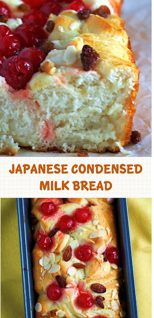 Japanese Condensed Milk Bread