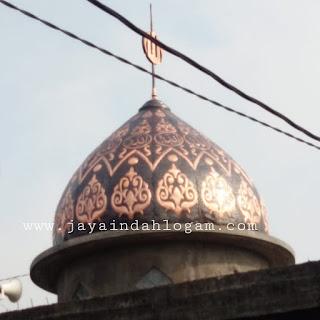 Kerajinan tembaga dan kuningan produk kubah masjid tembaga