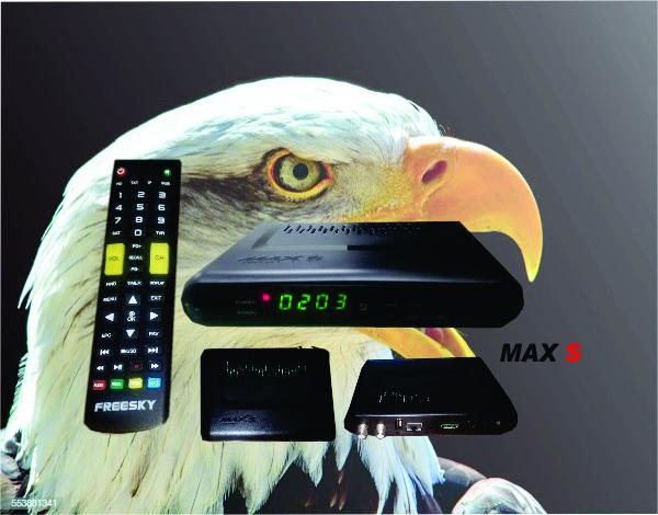FREESKY MAX S NOVA ATUALIZAÇÃO 1.09.21153- 26/11/2019