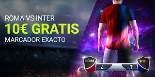 Luckia promocion Roma vs Inter 19-7-2020
