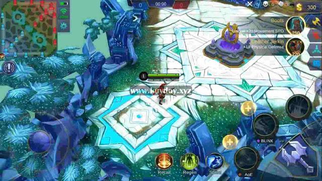 Cara Merubah Tampilan Map Mobile Legends Dengan Script MOD Map Winter