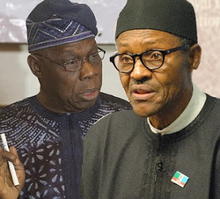 Nigeria Was Finished Before 5 of Us Brought In Buhari To Save The Country, He's Doing What We Sent Him - OBASANJO
