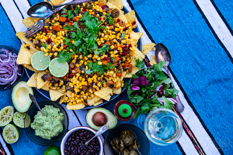 Tex-Mex salaatti bataatista