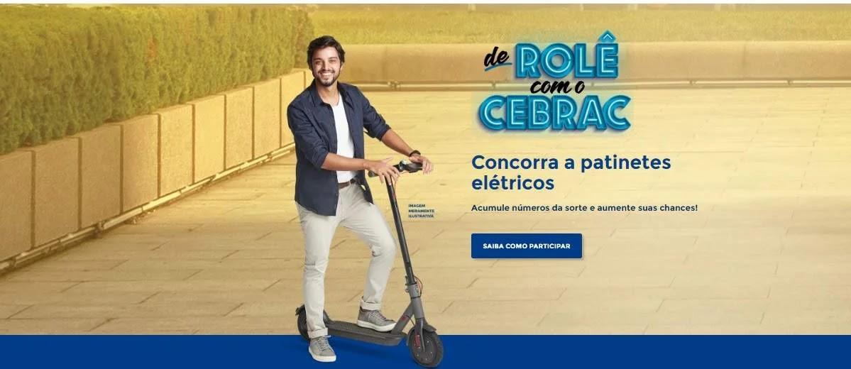 Promoção Cebrac 2020 Patinetes Elétricos De Rolê Cebrac - Cadastrar, Sorteios