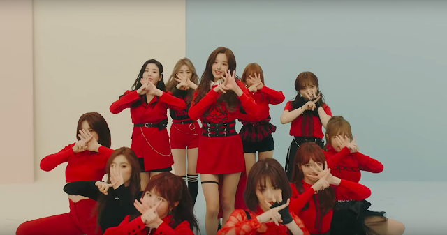 debut izone la vie en rose coloriz