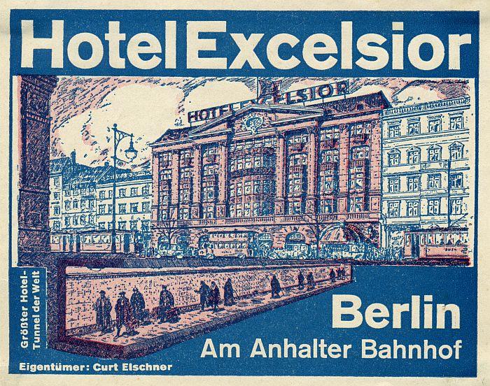 Grand Hotel Excelsior Berlin S Largest Weimar Berlin