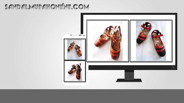 Suplier Sandal Sepatu Aura Talincang Murah