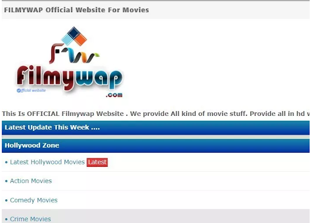 Filmywap 2019: Download Hollywood, Bollywood, Tollywood Movies Online