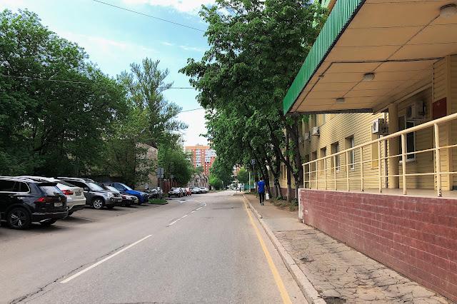 улица Полины Осипенко