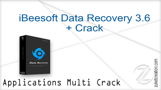 iBeesoft Data Recovery 3.6 + Crack  |  26 MB