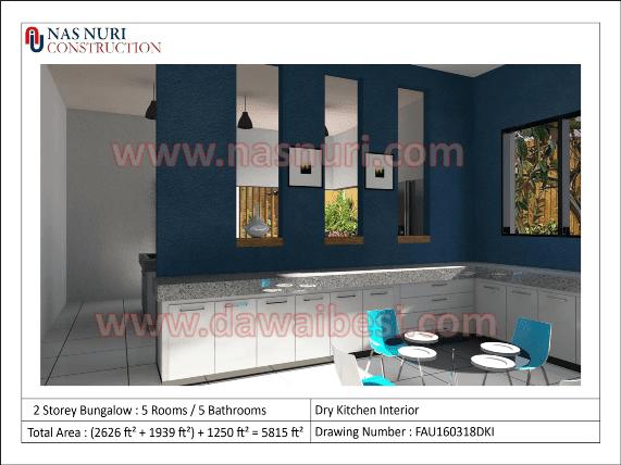 interior designer malaysia dry kitchen