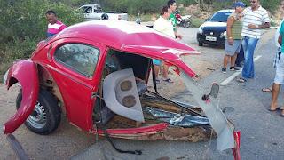 Morre 2ª vítima do acidente automobilístico na PB 137, próximo a Picuí