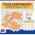 Confirman 138 casos de Covid-19 en la Región del Maule