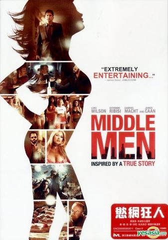 Middle Men 2009 Dual Audio Hindi 480p BluRay x264 350MB ESubs