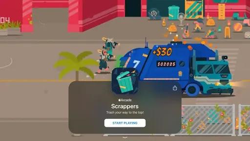 Scrappers تنظيف الشوارع من القمامة