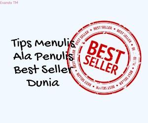 Beberapa Saran Cara Menyelesaikan Novel dari Penulis Best Seller Dunia!