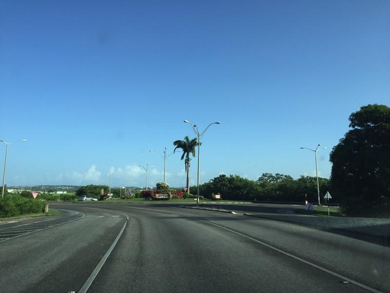 Dirigindo em Barbados