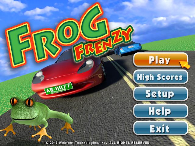 تحميل لعبة الضفدع القديمة الاصلية Frog Frenzy للكمبيوتر برابط واحد مباشر ميديا فاير