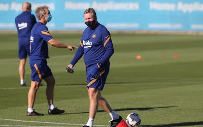 Barcelona coach Kuman has been suspended for two games