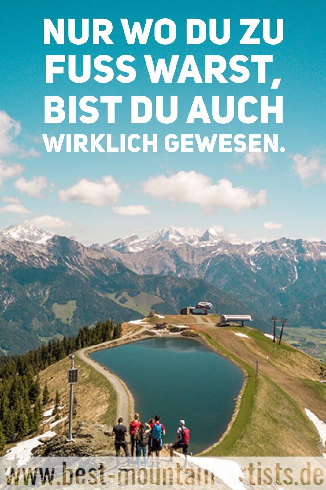 """""""Nur wo du zu Fuß warst, bist du auch wirklich gewesen."""", Johann Wolfgang von Goethe"""