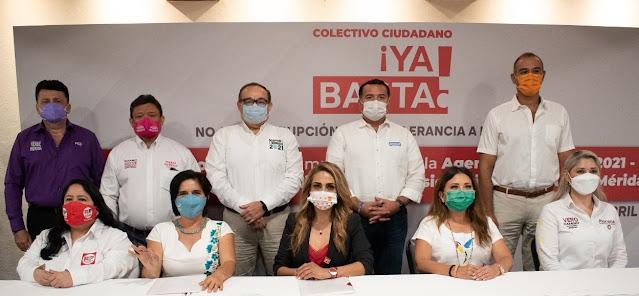 Candidatos a la alcaldía se comprometen a combatir la corrupción