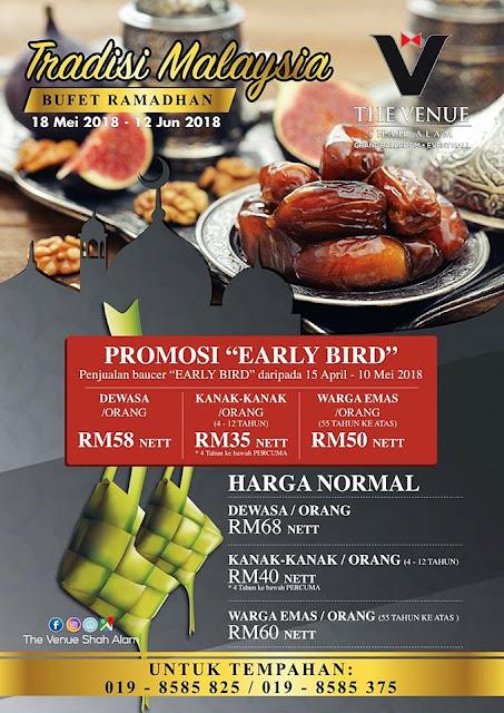 Buffet Promotion @ The Venue Shah Alam Ramadhan 2018 Buffet Selangor
