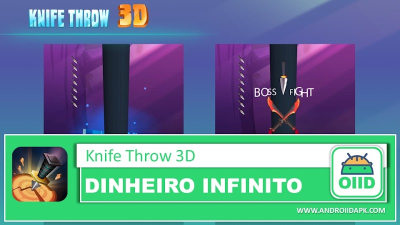 Knife Throw 3D v2.18 (Mod Apk)