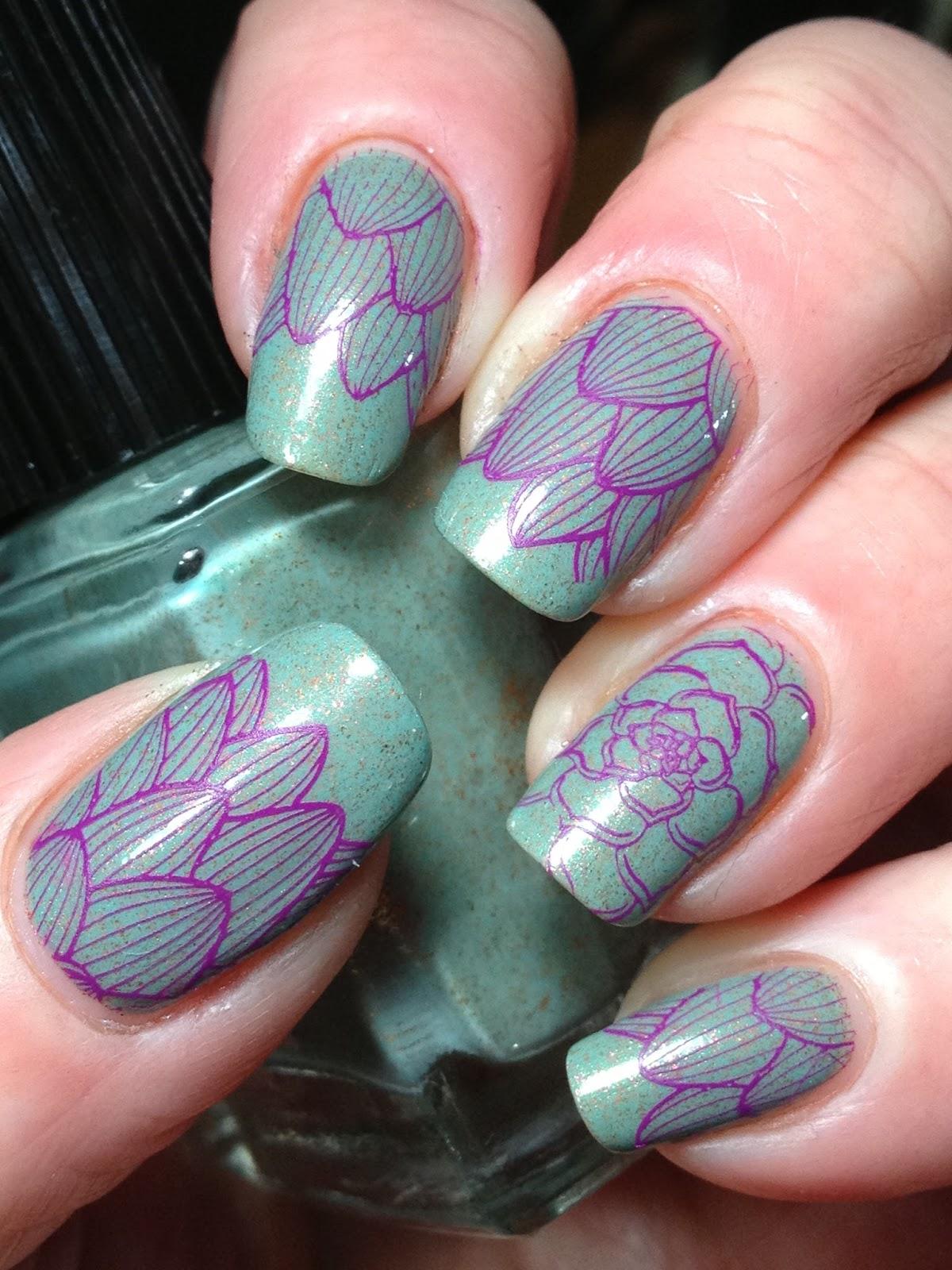 Canadian Nail Fanatic: 40 Great Nail Art Ideas Does Floral