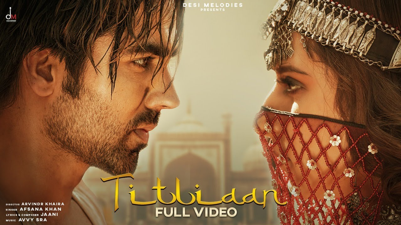 Titliyan Lyrics Hardy Sandhu X Afsana Khan Ft Sargun Mehta