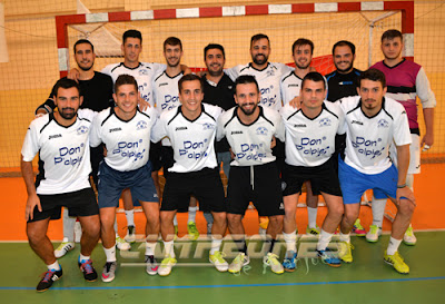 Fútbol-sala Aranjuez Don P´Alpie