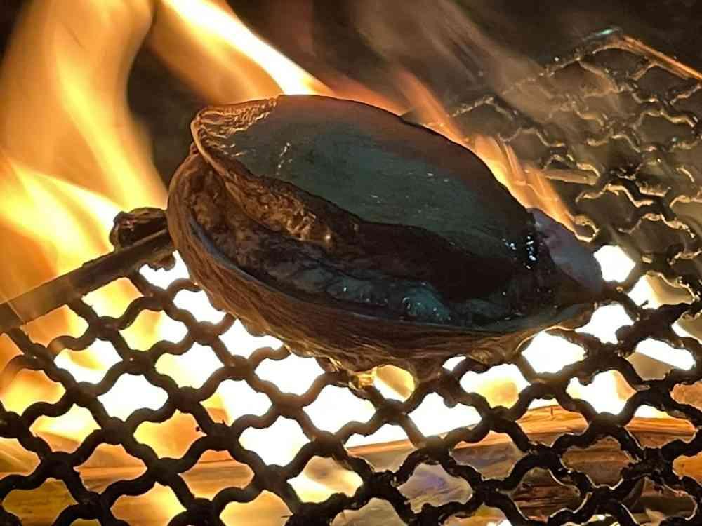 アワビの姿焼き