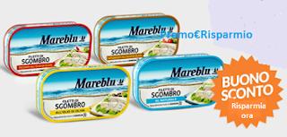 Logo Buono sconto Filetti di Sgombro Mareblu