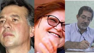 Fotomontagem com candidatos em Castilho