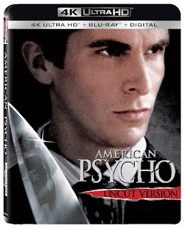 Lionsgate American Psycho 4K, Blu-ray and Digital Combo Pack
