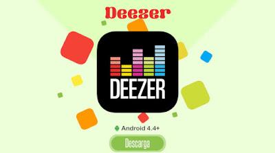 Deezer Music Descarga y Escucha Música 320 Kbps Offline