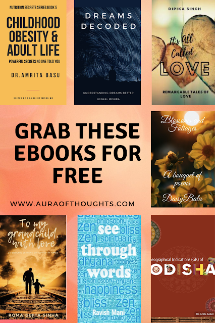 ebook reviews Blogchatter - Aura Of Thoughts