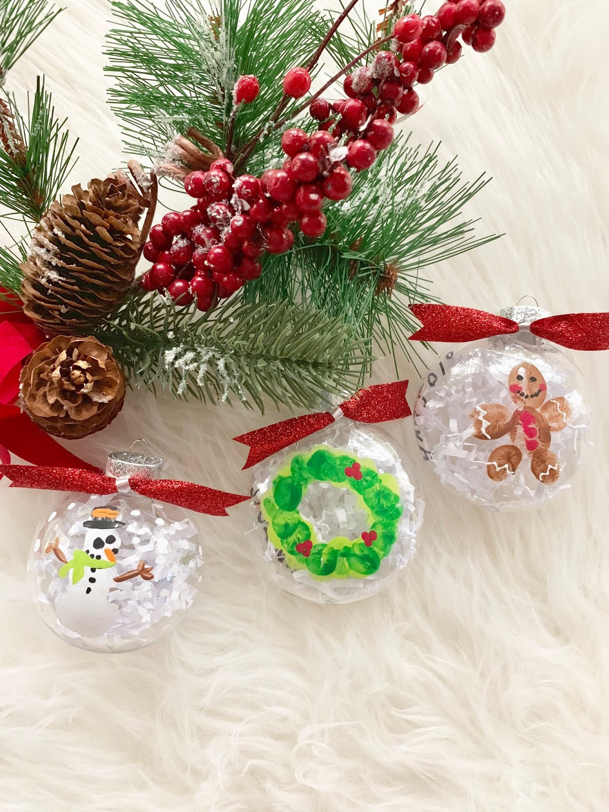 Teacher Gifts Diy Christmas Hand Painted Clear Plastic