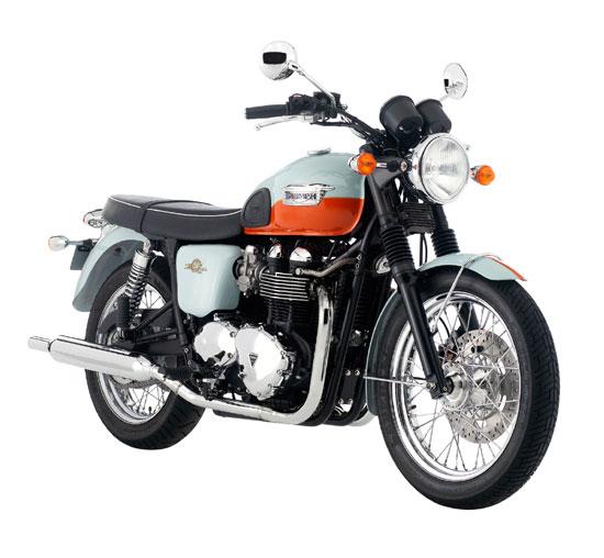 Triumph Bonneville T100 50th Anniversary Edition, 2009