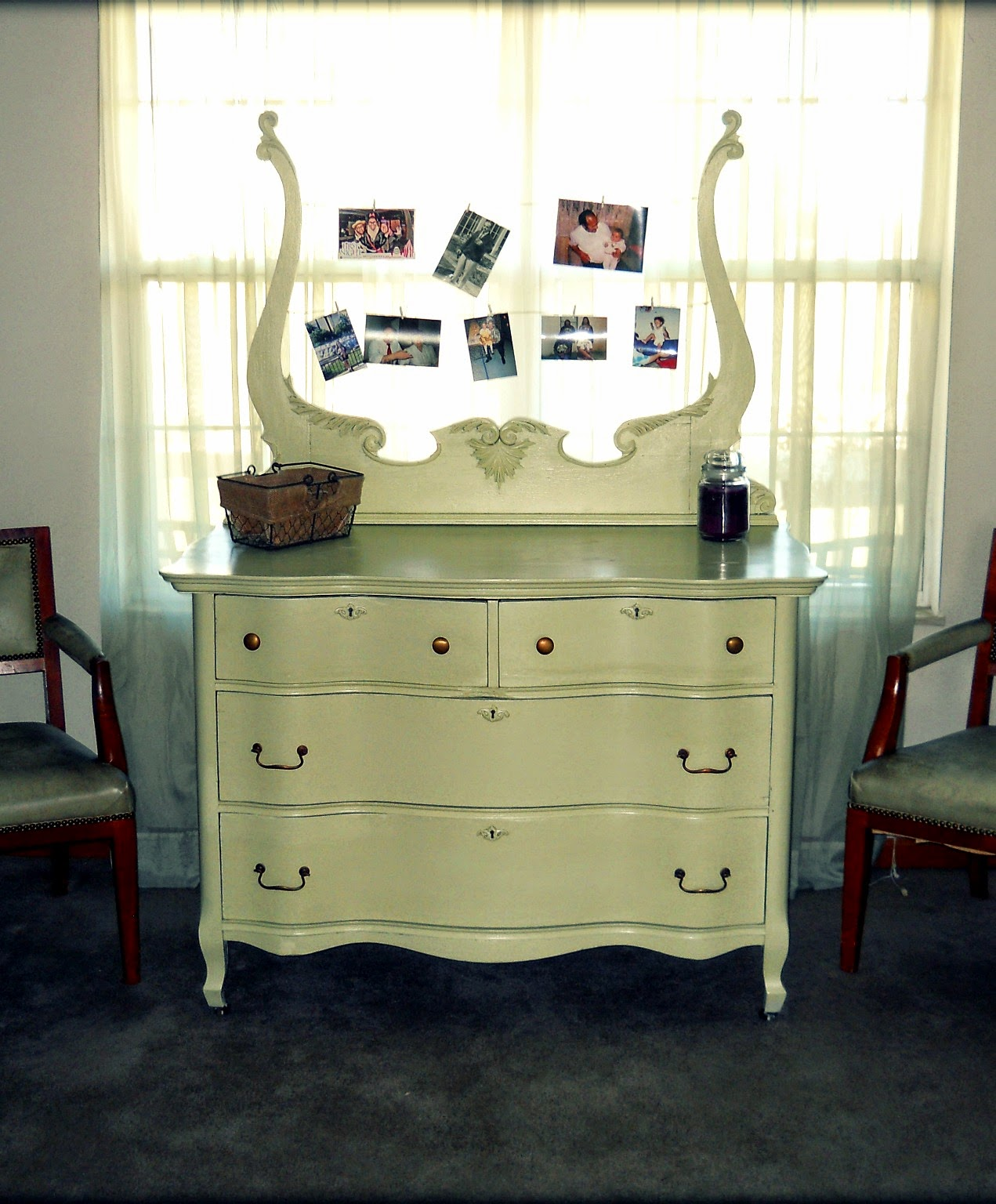 Paw Prints And Paintbrushes Painting Furniture With Latex