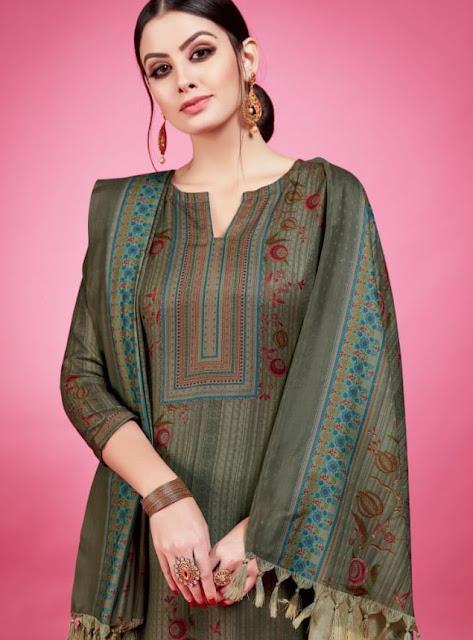Shraddha Designer betro Fashion Pashmina woolen Suits
